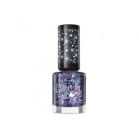 Rimmel Glitter Bomb Top Coat – Bedazzle