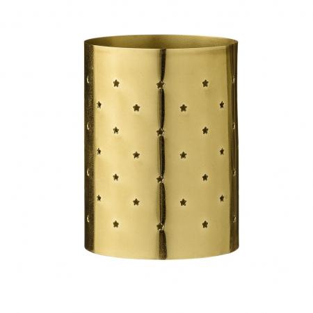 Waxinelichthouder in goud