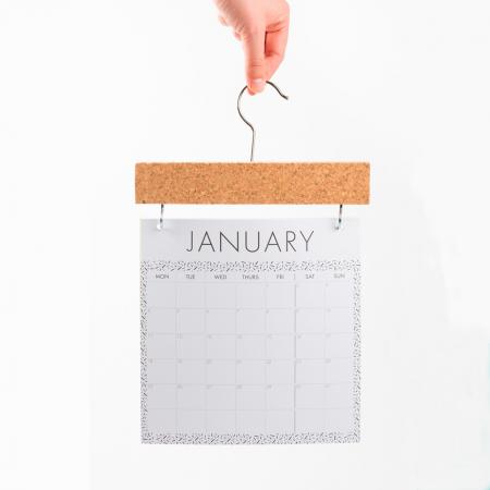 Kalender + prikbord