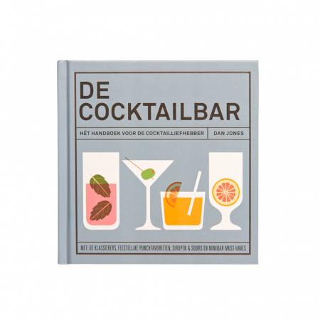 Boek 'De cocktailbar'