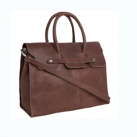 Un sac en cuir