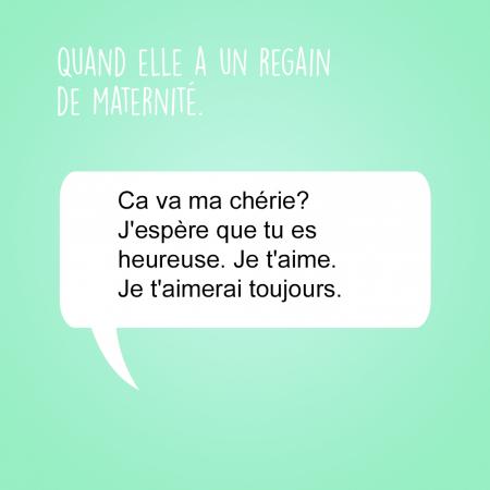 Les SMS que toutes les mamans envoient