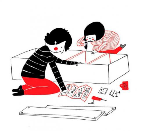 Monter un meuble ensemble