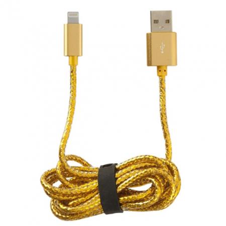 Gouden USB-laadkapel