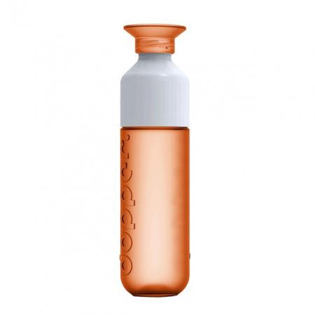 Dopper: drinkfles 450 ml in oranje