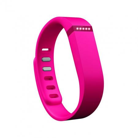 Fitbit: flex activity tracker in roze