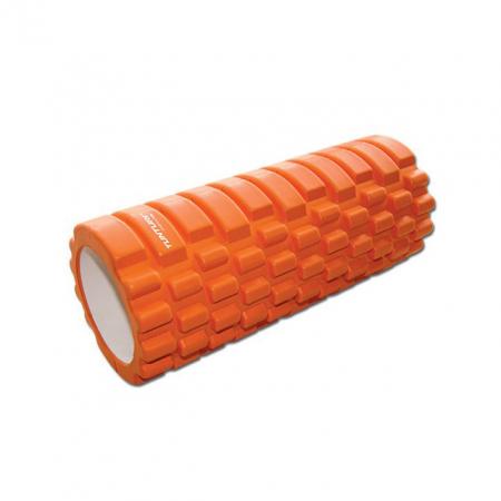 Tunturi: foam roller in oranje
