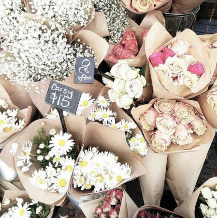 Een bos bloemen