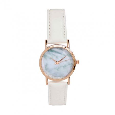 Horloge met marmerlook
