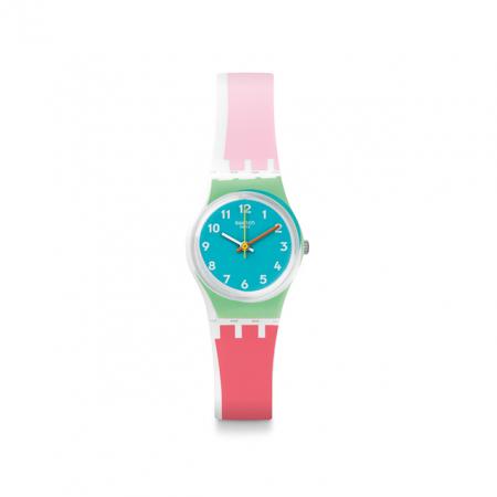 Color blocking horloge