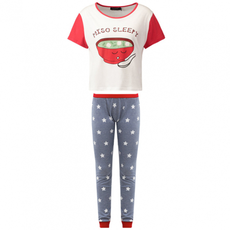 Pyjamashirt & pyjamabroek