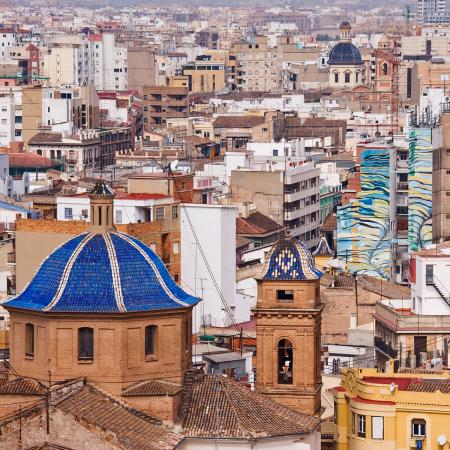 2. Valencia (Spanje) – € 428 per maand