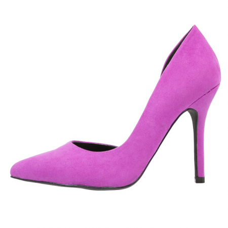 Lila pumps