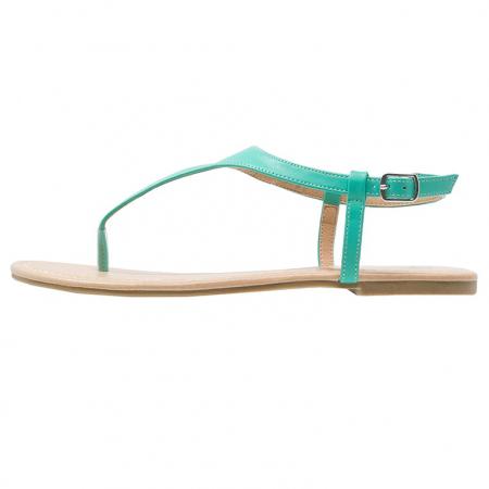 Sandaal met turkooizen bandje