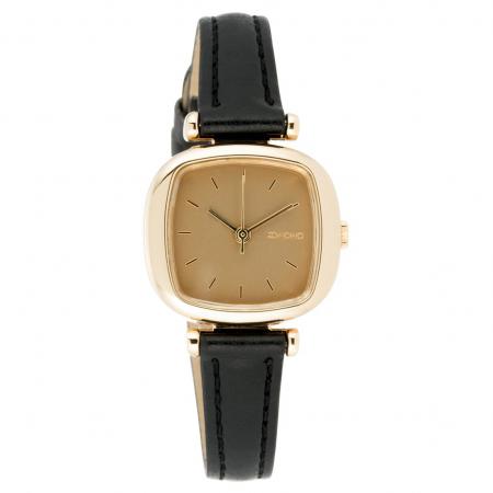 Horloge met zwart bandje