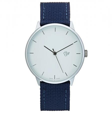 Horloge met blauwe band