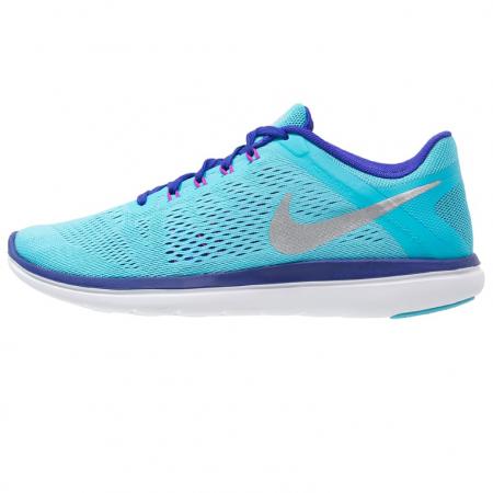 Felblauwe loopschoenen