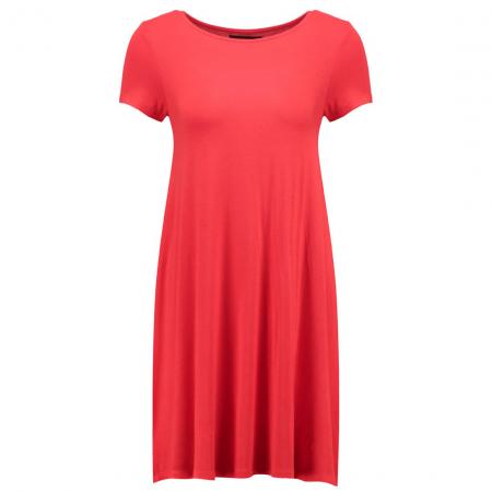 Felgekleurde jurk