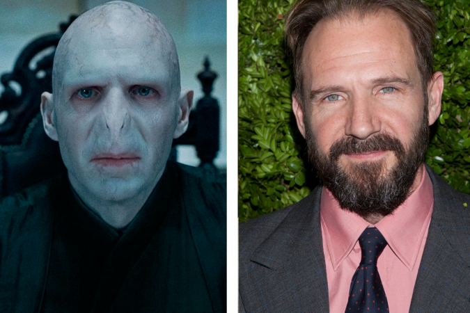 Lord Voldemort – Ralph Fiennes