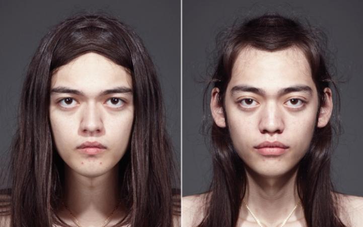 Symmetrisch gezicht