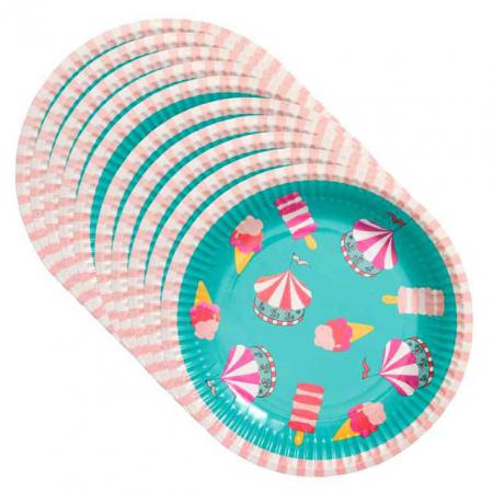 10 papieren borden