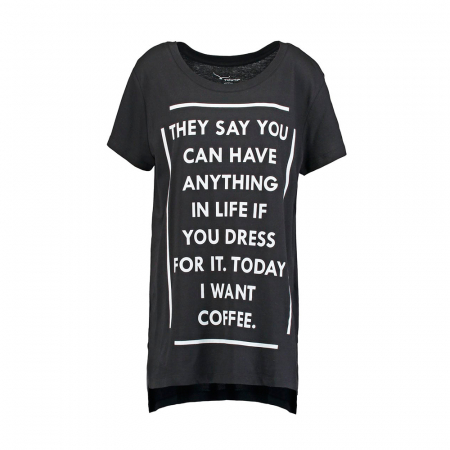 Today I want coffee
