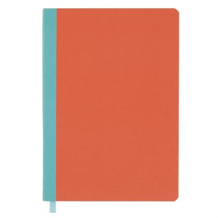 Oranje met blauwe agenda