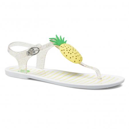 Glitterende, fruitige sandalen