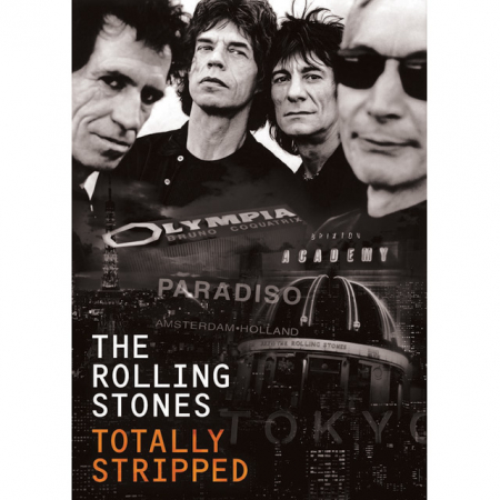 Rolling Stones: 4 dvd's + cd