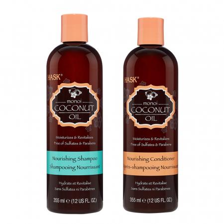 Shampooing et conditionner au monoï et coco
