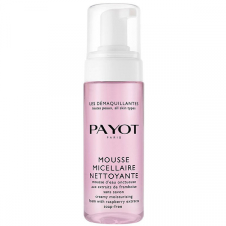 Micellaire mousse met framboos – € 22,55 – Payot