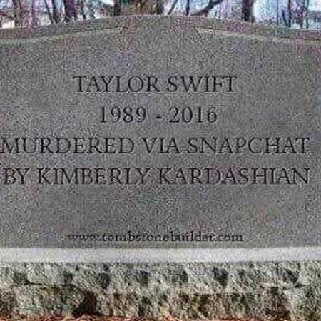 Taylor noemt het zelf karaktermoord. Het internet is het met haar eens.