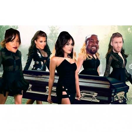 Taylor Swifts carrière wordt begraven door haar vijanden.