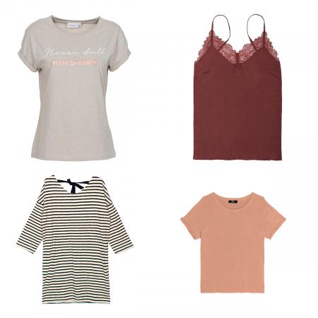 4 t-shirts