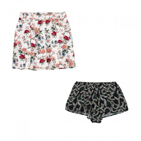 Un short et une jupe