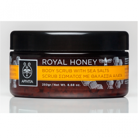 Body Scrub Honey Royal