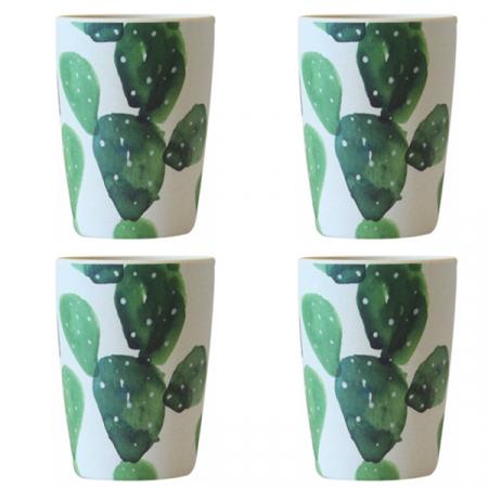 Cactus Allover-mok, set van 4