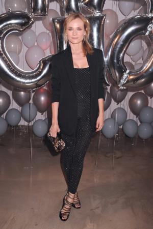 Diane Kruger op een feestje van Jimmy Choo