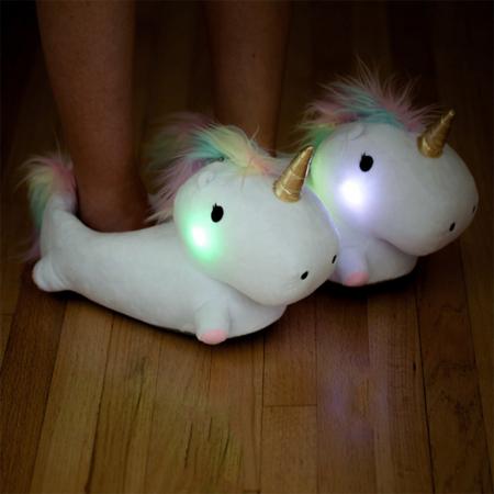 Lichtgevende pantoffels – € 44,95