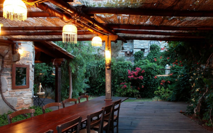 Villa Delenia in Euboea, Griekenland