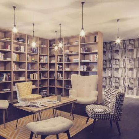 De gemeenschappelijke bibliotheek