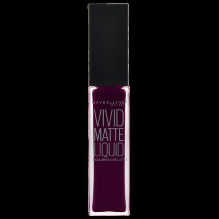 Vivid Matte Liquid in tint Possessed Plum