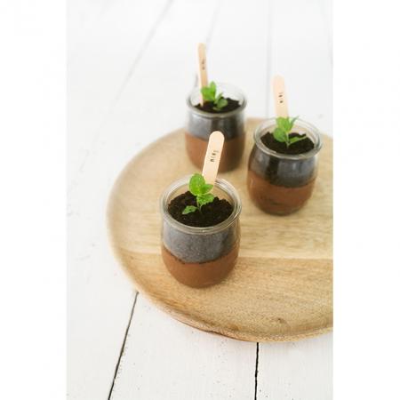 Plantaardige chocomousse