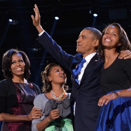 Obama fête les grands moments en famille