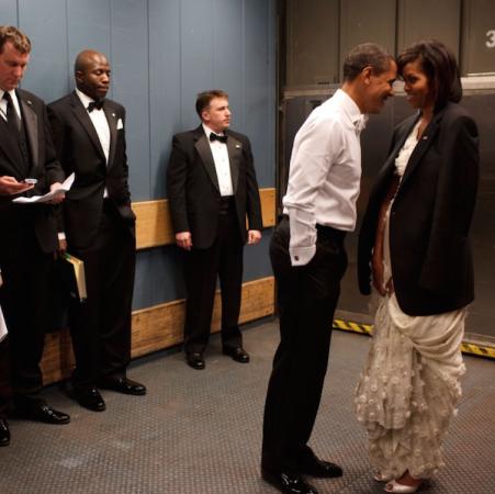 Barack et Michelle avant le Bal inaugural en 2009