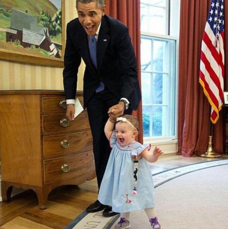 Obama et les enfants, une grande histoire d'amour