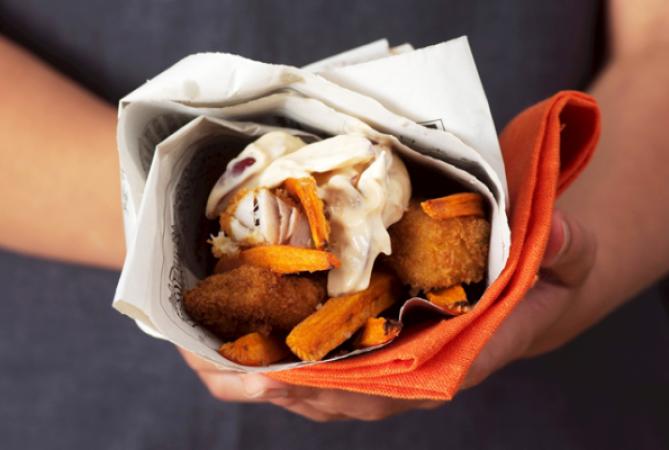 Donderdag: fish and chips