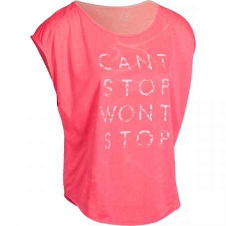 Roze T-shirt