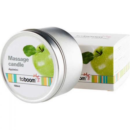 Massagekaars met appelgeur