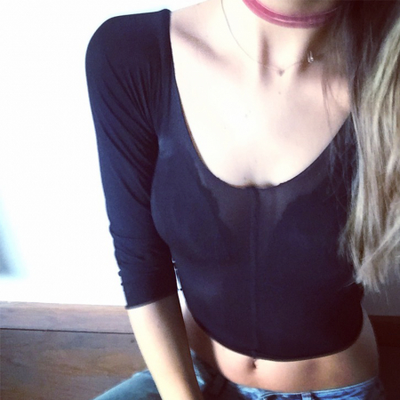 CROPPED TOP – ÉTAPE 6